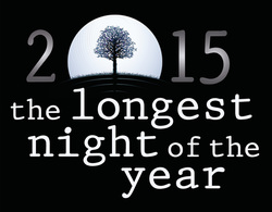 A logo for the Longest Night of the Year Service