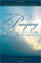 Book cover of Psalms for Praying by Nan Merrill.